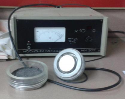 Statik elektriklenme olcumu yapan cihaz