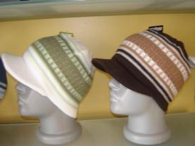 Keserek biçimlendirilen şapka örnekleri