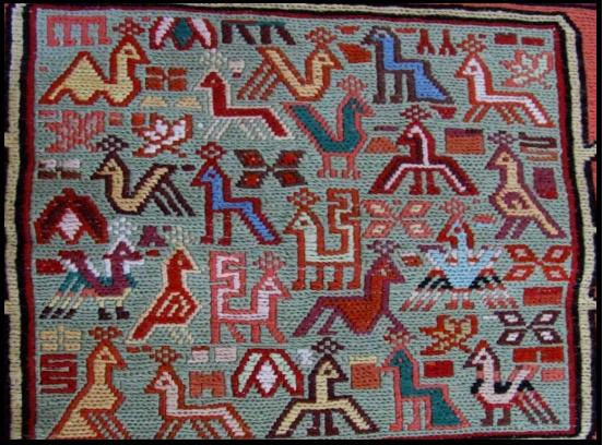 iran hali motifleri