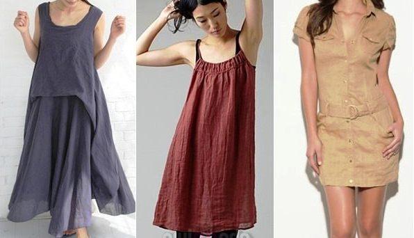 keten elbise 1