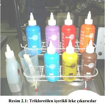trikloretilen leke cikaricilar