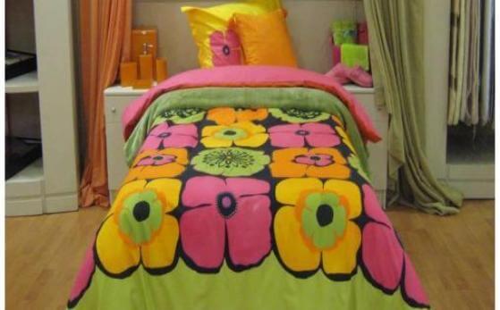 Tek kisilik yatak ortusu