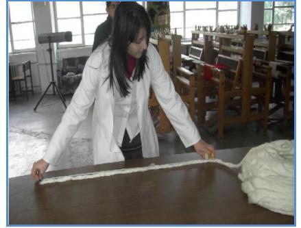 metre ile band uzunlugu tespiti