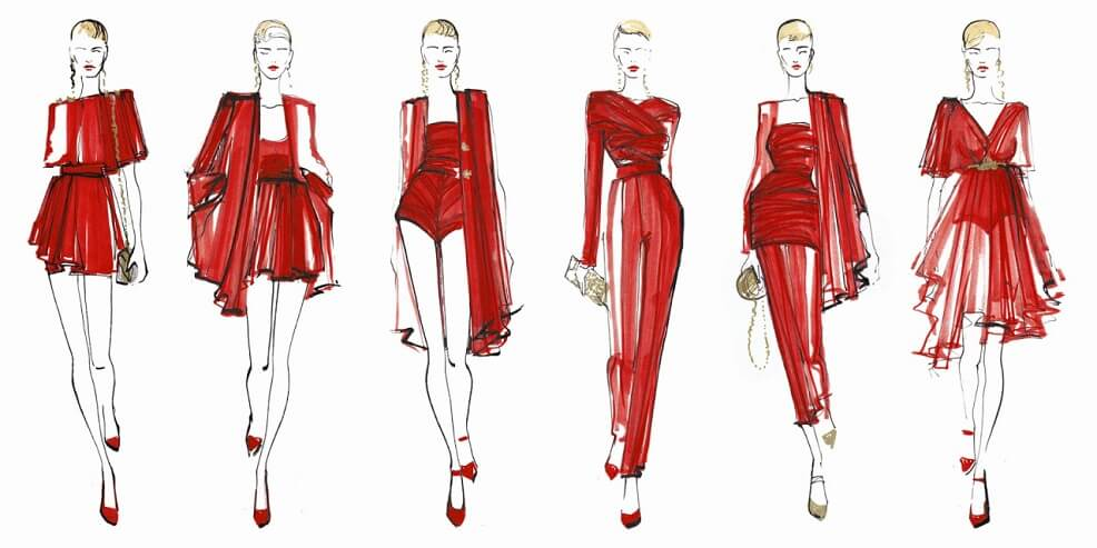 fashion illustration nasil yapilir moda tasarimlari nasil yapilir tekstilbilgi net
