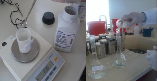 disodyum hidrojen cozeltisi hazirlama