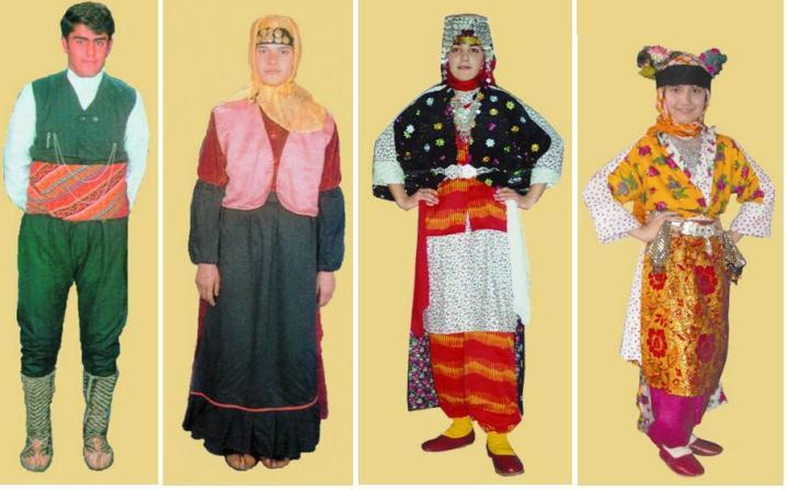 Guneydogu Anadolu Yoresel Kiyafetleri Tekstilbilgi Net