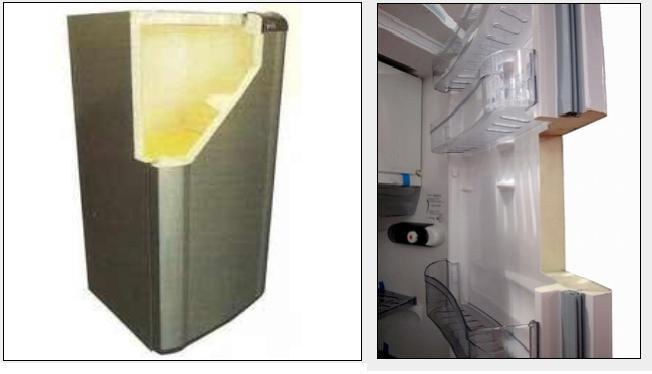 poliuretan buzdolabi