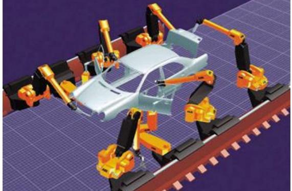 robot montaj