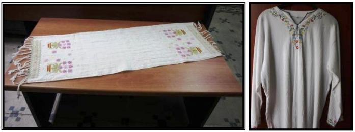 Şile bezinden yapılmış tekstil ürünleri