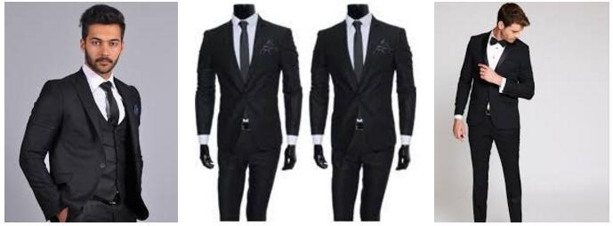 siyah takim elbise
